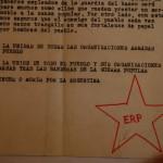 Comunicado original del ERP